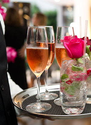 Beverages packages for private dining events from Dining Abode