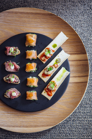 Canape cold buffet dining abode for Canape catering sydney