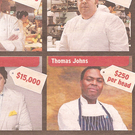 <p>Paying Top Dollar For Big Name Chefs</p>
