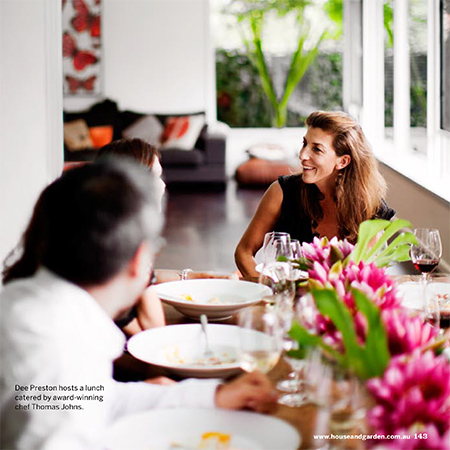 <p>Book a Table for Eight In Your Home…</p>